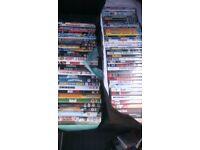 300 dvds hollywood blockbusters ,tv, kids etc