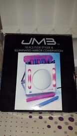 JMB 18 piece flexi hair curlers Brand new never been used