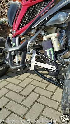 Kennzeichenhalter Kennzeichenhalterung Vorne V2A Quad Yamaha 350 700r YFM Raptor