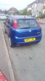 Fiat Grande punto 07 plate
