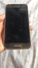 Samsung s6 gold new