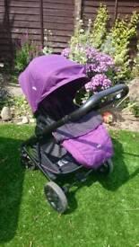 Joie chrome stroller