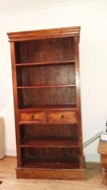 Hardwood shelves