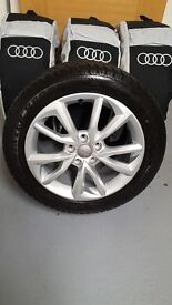 Genuine Audi Winter Wheels & Tyres Set of 4