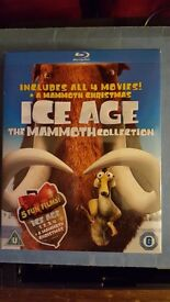 Ice Age the mammoth collection complete box set 5 films on Blu-Ray in sealed box set