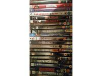 DVD horror/scary films x33