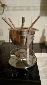 Fondue set - never been used