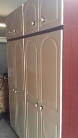 2 Large Cupboards