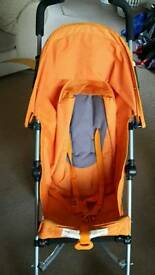 'Nano' pushchair- orange