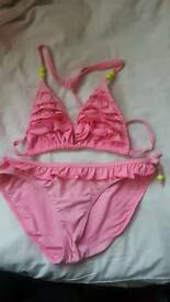 Two piece swim set 12 13yrs pink