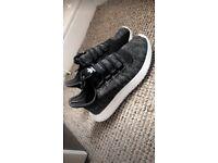 Adidas tubular trainers size 5