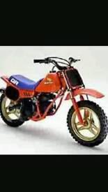 Honda Qr 50 parts or bike wanted