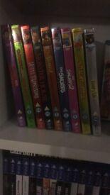 Disney style O-Ring DVD's