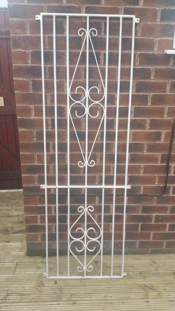 Steel Security Door Grille