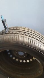 FORD SPARE WHEEL AND TYRE