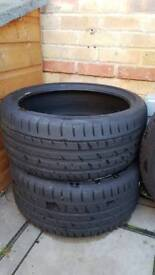 2 x Continental ContiSportContact 3 Tyres