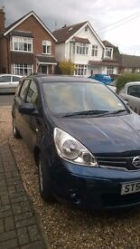 Nissan Note - Great Reliable Car - Low Mileage and in Good Condition