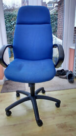 Free operators chair with new gas unit. Used.