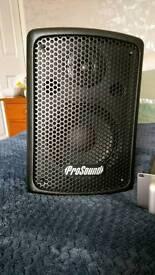 Speaker & Amplifier