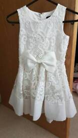 Flower girl dresses age 4 and 2