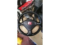Honda Civic EP3 Type R Steering Wheel