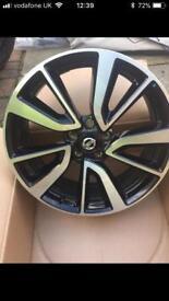 """Nissan XTrail T32 19"""" Alloy Wheels (30 miles)"""