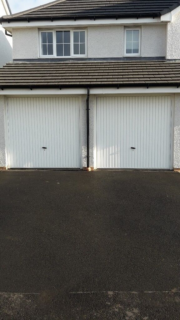 Two Identical Garage Doors - Great Condition