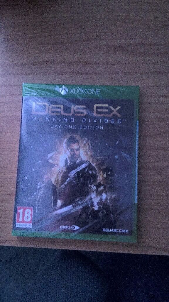 Xbox One: Deus Ex - Mankind Divided Day One Edition
