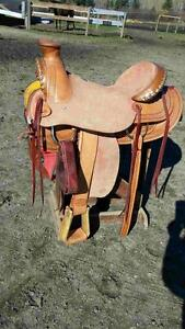New Western Ranch Saddle