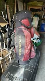 Golf bag golden bear