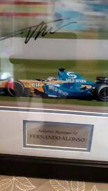 Alonso signed picture