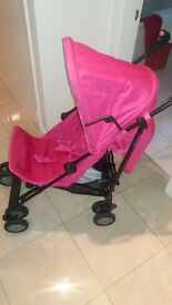 pink mothercare stroller