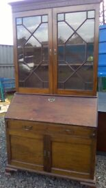 Beautiful antique Georgian secretaire bureau
