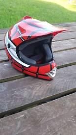 Spiderman style helmet