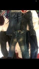 3-4 boys jeans bundle