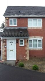 Now available 3 bed semi-detached house with garage- Tircoed Village.