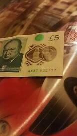 New 5 pound