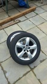 Skoda activia alloy wheels x2