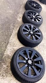 Black Alloys for sale (2 months old)