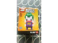 LEGO Brickheadz Series 1 41588 Joker New in box