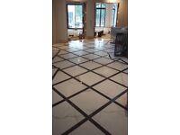 Professional tiller and granite worktops fitter