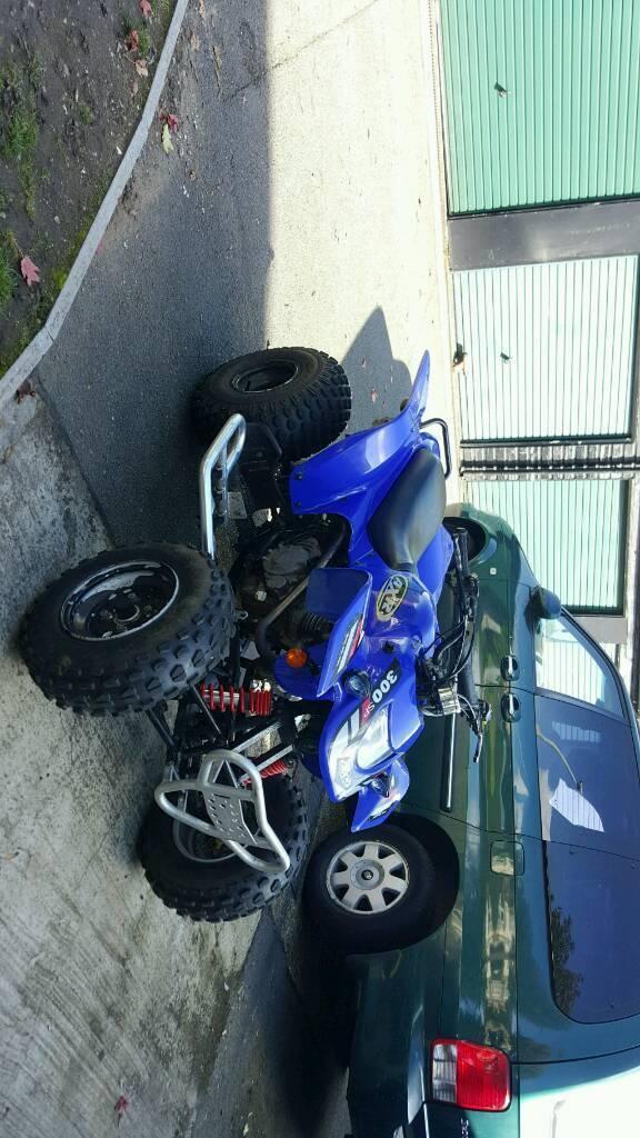 PRICE DROP* Road legal Quadzilla axr 300 no car,van,yamaha,suzuki,quad,Honda,polaris,kawasaki