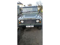 Rebuilt and Modified Land Rover 110, 1983