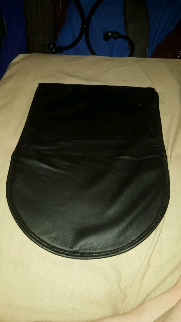 Leather gel pad