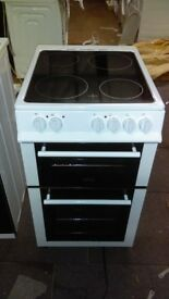 BELLING FS50EDOC 50 cm Electric Ceramic Cooker - White ex display