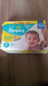 Pampers Premium Protection nappies Size 2