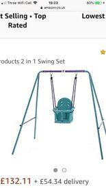 Plum 2in1 swing set