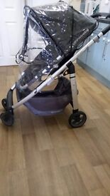Upper baby crus pushchair