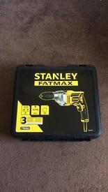 Stanley fatmax 4metre corded drill.
