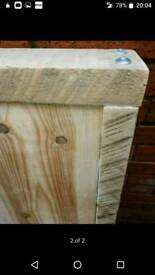 Double headboard ideal upcycle project